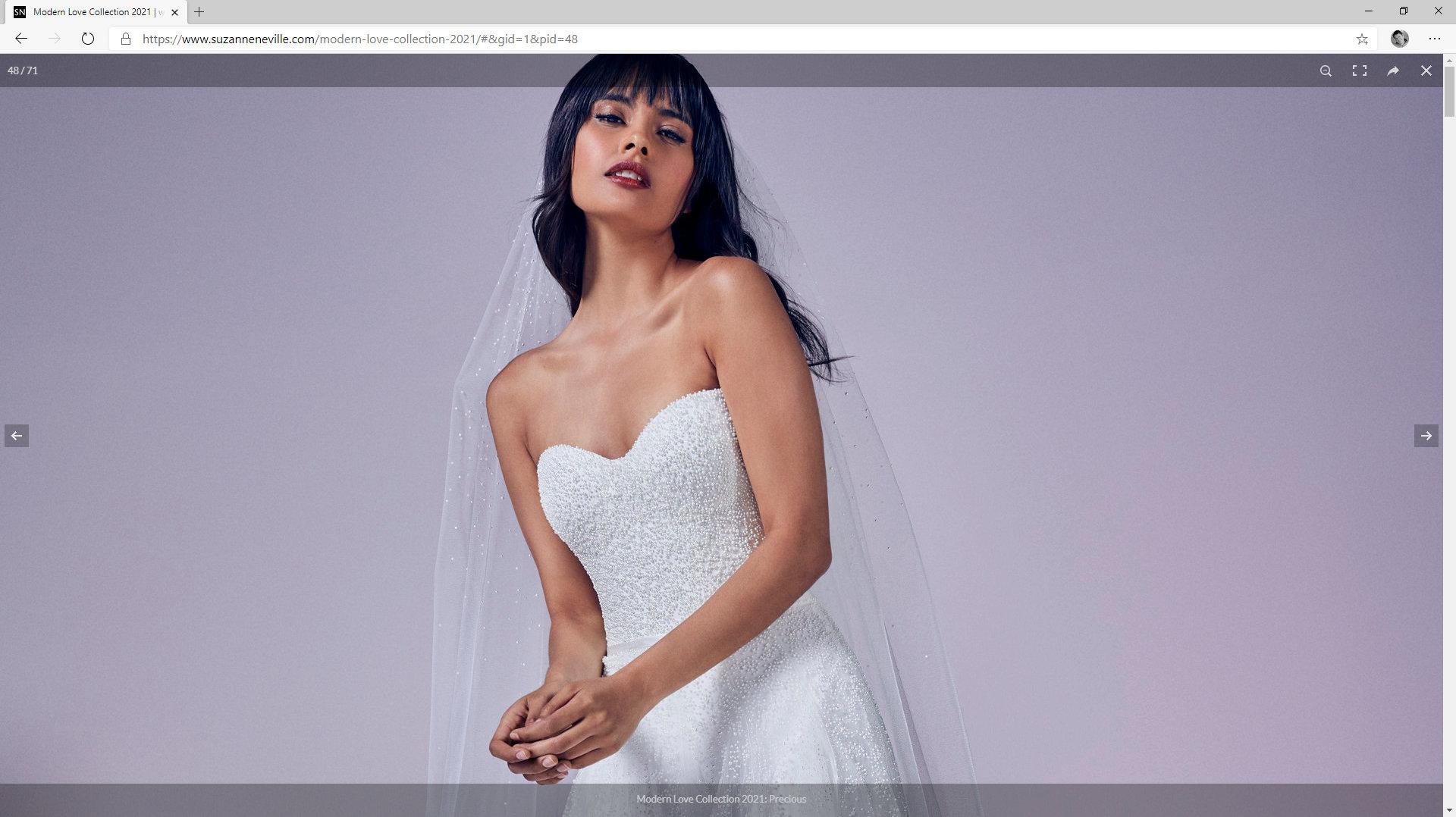 Bridal Collection 2020 | Modern Love | Suzanne Neville