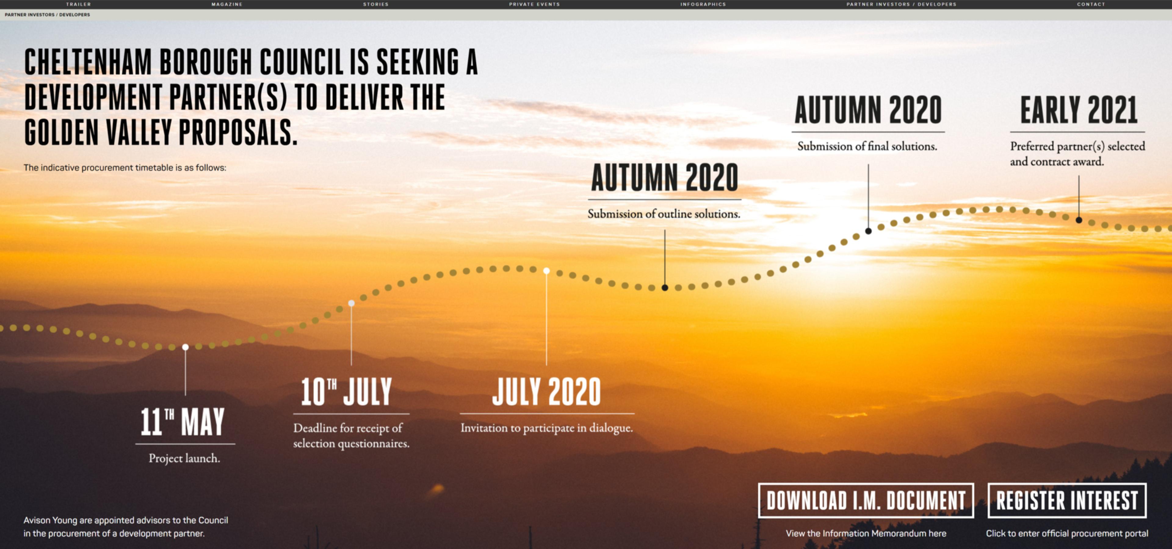 Golden Valley Development   Cyber Central UK   Website Build 2020   Tang Marketing